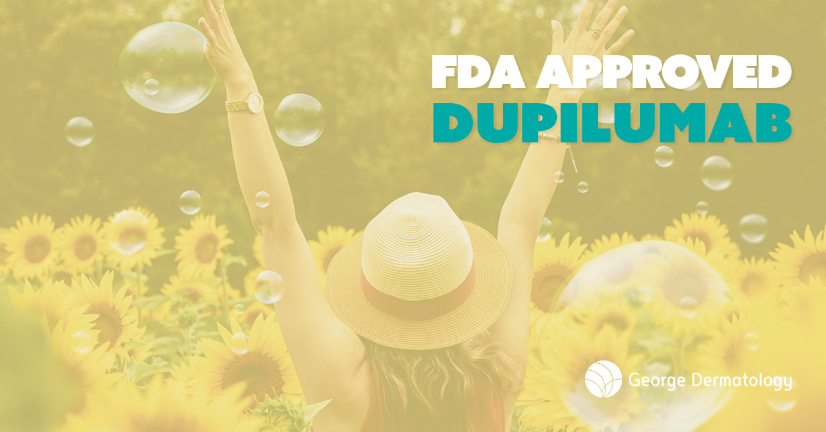 FDA Approved Eczema with Dupilumab