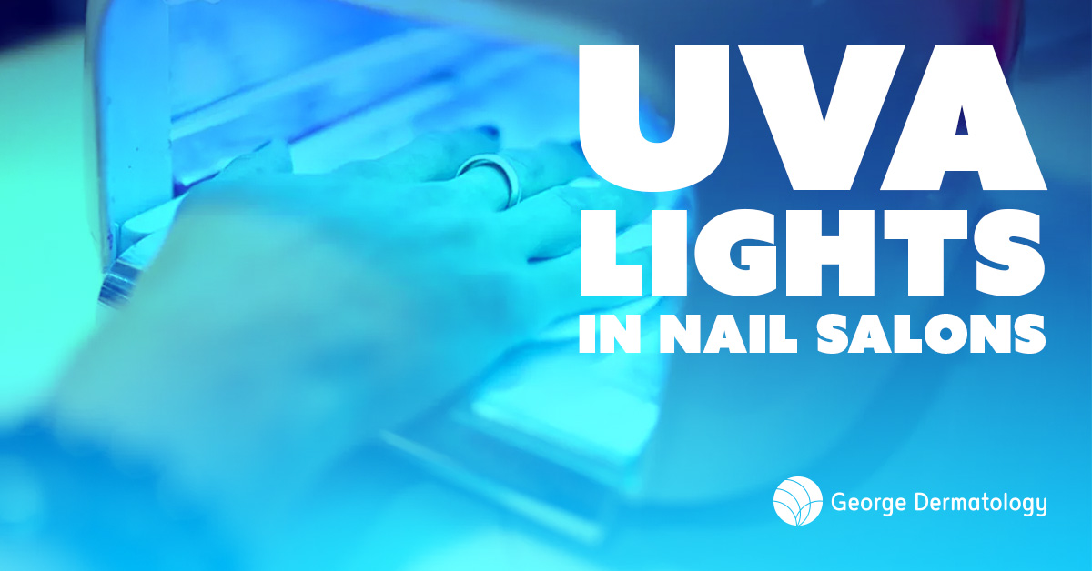 UVA Lights Used In Nail Salons.